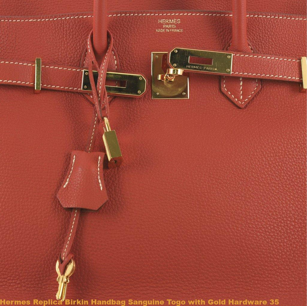 d93fdc1253 Hermes Replica Birkin Handbag Sanguine Togo with Gold Hardware 35 – High  Quality Replica Hermes Handbags Birkins, Wallets, And Belts