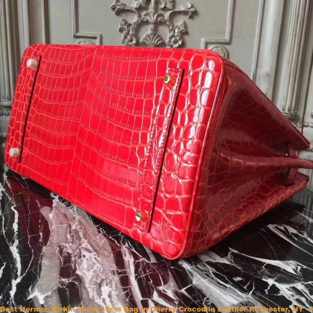 f1fabe5440 Best Hermes Birkin 30cm 35cm Bag In Cherry Crocodile Leather ...